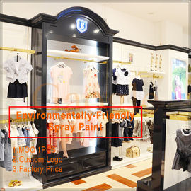 China clothing store display design/clothing display racks usine