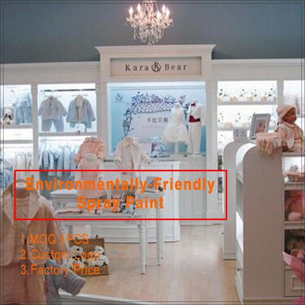 hot sell fashion baby clothes store interior design for clothing display fournisseur
